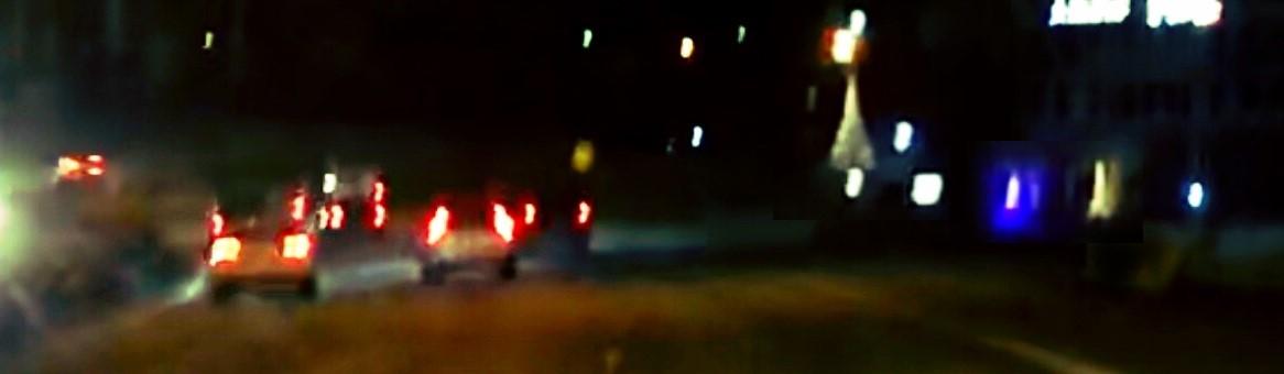 Julbelysning vid E4 Vårby